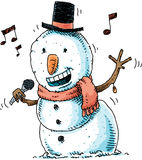 singing-snowman-happy-cartoon-song-46412753
